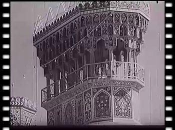 فیلمی قدیمی از حرم امام رضا علیهالسلام مربوط به سال ۱۳۴۰