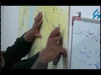فیلم منتشر نشده از حضور سردار سلیمانی در اتاق وضعیت سیل شادگان