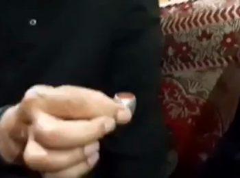 حضور سردار قاسم سلیمانی در منزل شهیدان سعد