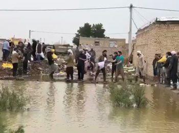 امداد رسانی مجاهدان حزب الله لبنان به مردم سیل زده خوزستان