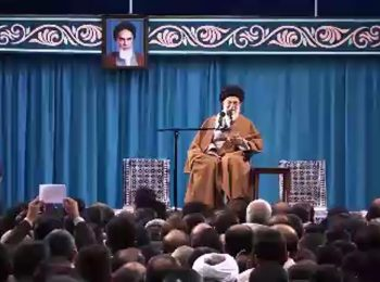تذکر رهبر انقلاب به شعار یکی از حضار درباره سند ۲۰۳۰