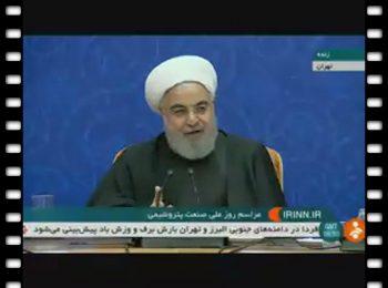 حسن روحانی: در شرایط صلح وعده انتخاباتی دادم، الان وضعیت جنگی است!!