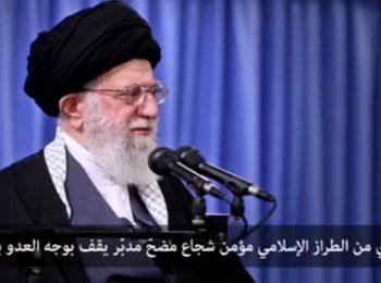 """واکنش سپهبد سلیمانی به شعار """"مالک اشتر علی…"""" مردم در بیت رهبری"""