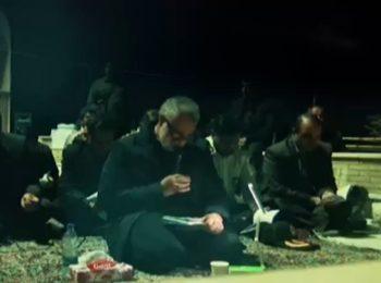 فیلم دیده نشده از مناجات و قرائت دعای کمیل با نوای عارفانه سپهبد شهید حاج قاسم سلیمانی