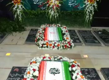 نماهنگ | مراسم تعویض سنگ مزار سپهبد قاسم سلیمانی