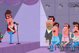 مجموعه انیمیشن طنز انتخاب من | رأی با سلبریتی