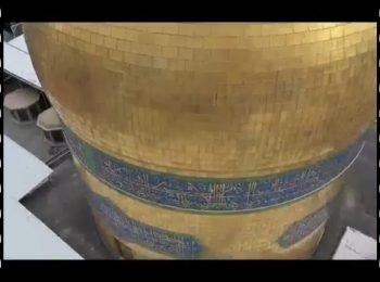 نماهنگ   زیارت کبوترانه حرم مطهر رضوی در آغاز سال ۱۳۹۹
