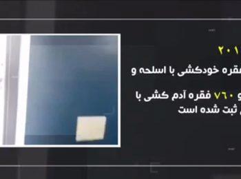 موشن گرافیک | جرم و جنایت در آمریکا بیشتر است یا ایران؟؟
