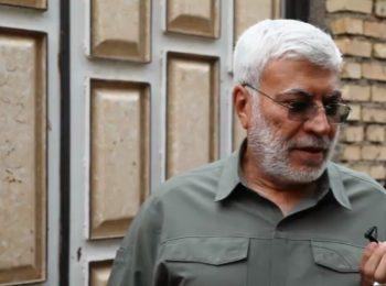 گفتگوی کوتاه سال گذشته با شهید ابومهدی المهندس در مناطق سیلزدهی خوزستان