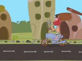 ترک موتور هم میشینی باید کلاه کاسکت بزاری!
