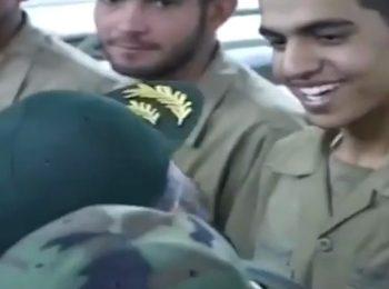 نحوه برخورد شهید حاج احمد کاظمی با سربازان