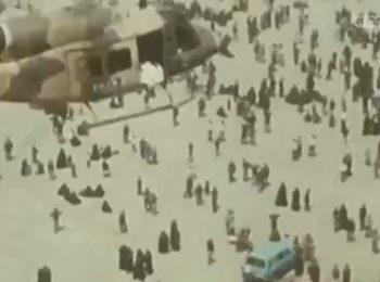 فیلم دیده نشده از مراسم تشییع امام خمینی در سال ۶۸