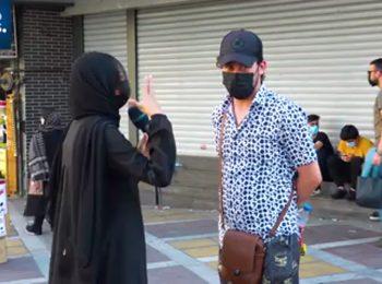 پاسخ مردم تهران به خبرنگار یورونیوز: رأی نمیدهیم!