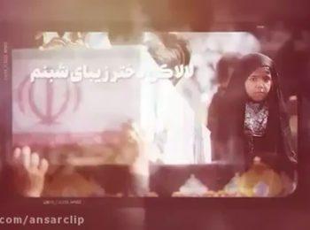 نماهنگ «دختر زیبای شبنم» تقدیم به دختران شهدای مدافع حرم