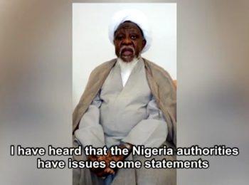 سخنان شیخ زکزاکی درباره کارشکنی دولت نیجریه در روند درمانش در هندوستان
