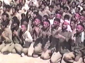 همخوانی رزمندگان با حاج محمود کریمی