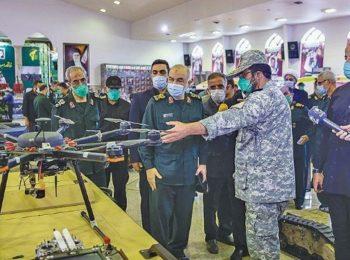 نمایشگاه دستاوردهای رباتیک سپاه